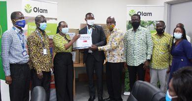 Noguchi Institute Receives COVID-19 PPE From Olam, Temasek