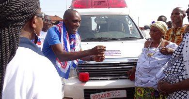 NPP Japan Branch Donates Ambulance To Nkoranza South Consistency