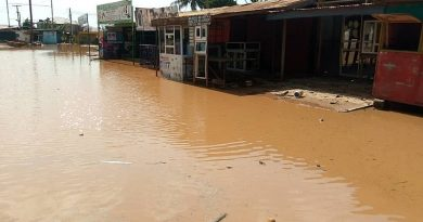 Parts Of Ablekuma Sinking Flooded 24 hours After Rainfall