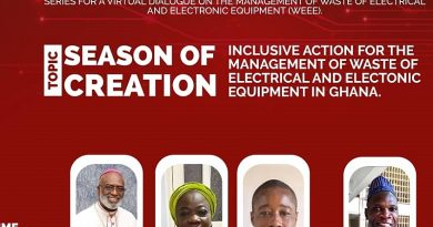 Season Of Creation: Caritas Ghana Holds Virtual Stakeholder Discussion On Effective E-Waste Management