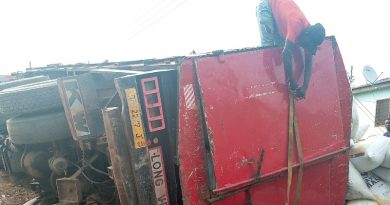 The Plight Of Brafoyaw Residents As Cargo Truck Falls To Ground