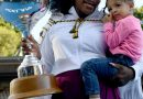Watch Serena Williams Get Her Daughter, Olympia, Ready for Her First Tennis Lesson