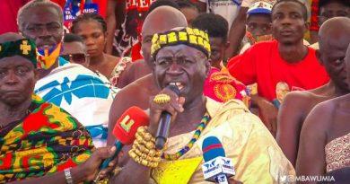 We're Grateful For Creation Of Ahafo Region – Nkaseim Chief To Akufo-Addo