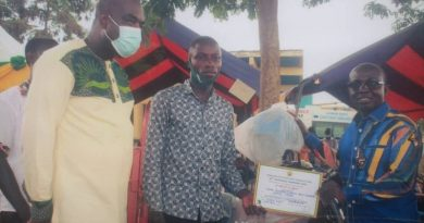 22 Year Old Crowned Overall Best Farmer At Gomoa East Constituency