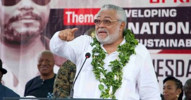 A Legend Departs From Life: South African Chapter Of The NDC Pays A Glowing Tribute To H.E. Jerry John Rawlings