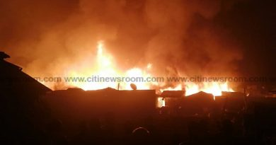A/R: Three Die In Fire After Trailer Collides With Tricycle At Anloga Junction