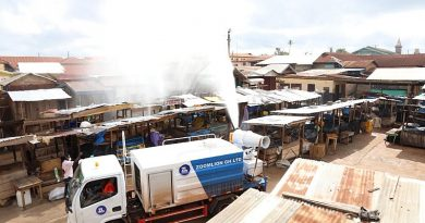 Ahafo MarketsBenefitFrom 3rd Phase Of National Disinfection
