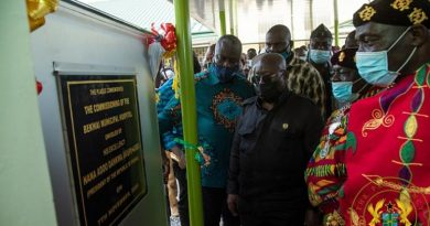 Akufo-Addo Completes, Commissions General Kutu Acheampong's 120-bed Hospital In Bekwai