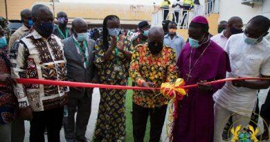 Akufo-Addo Inaugurates KNUST-Obuasi Campus