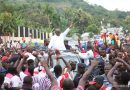 Akufo-Addo Shakes Hohoe Today