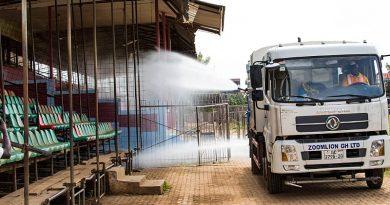 Bono Region: Over 100 Markets, Bus Terminals Undergo Disinfection