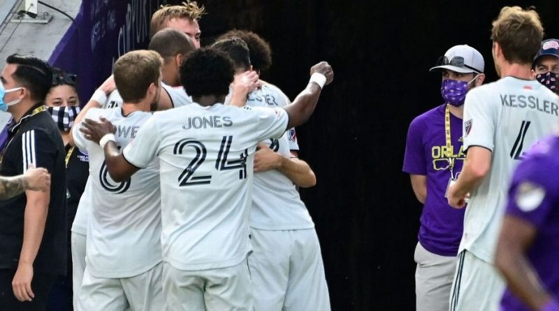 Bou scores twice as Revs eliminate Orlando City