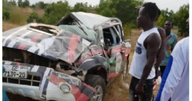 E/R: NDC Executives Sustain Injuries In Car Crash