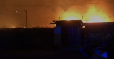 Fire Ravages Odawna Market