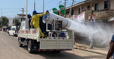 Greater AccraMarkets Go Through 3rd Disinfection