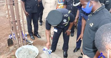 IGP Lays Foundation Stone For New Police Hospital In Kumasi