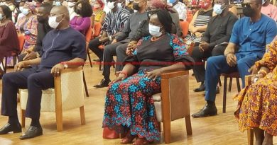 Jane Naana Visits Agyinasare Church On Sunday