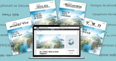 Jehovah's Witnesses Initiate Global Campaign