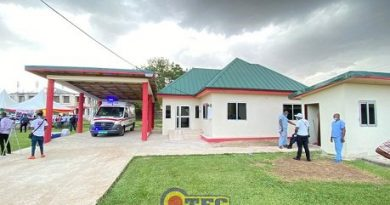 NAPO Constructs Ultra-modern Ambulance Bay For Manhyia Hospital
