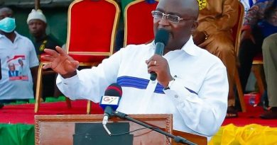 'NDC Should March For Akonfem, Airbus Scandals Not Rawlings Probity And Accountability — Bawumia