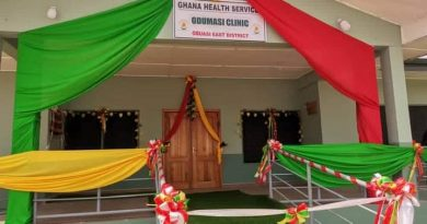 Obuasi East MP Commissions Two Health Facilities