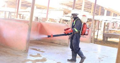 Oti Region Benefits From 3rd Phase Of Markets Disinfection