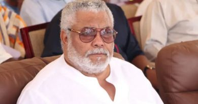 Posters, Fliers Of Rawlings' 'One-Week Ceremony' False – Office