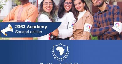"The second edition of the ""2063 Academy"": The African youth we want"