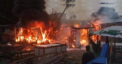 Three Injured In Fire Outbreak At Sekondi Fishing Bay