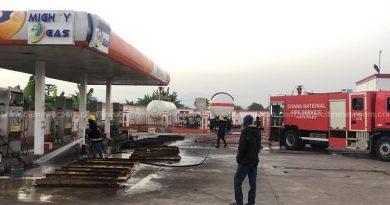V/R: Five Injured After Fire Guts Gas Filling Station At Ho