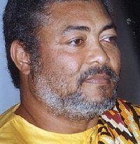 Youth In Focus signs book of condolence of late former President Rawlings