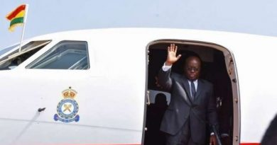 Akufo-Addo fly to Côte d'Ivoire, Enroute Guinea, UK