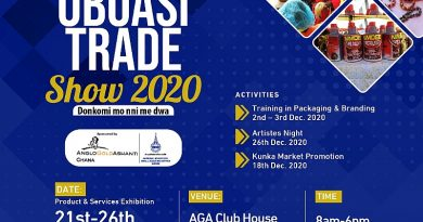 Annual Obuasi trade show set for 21st December 2020