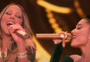 Ariana Grande and Mariah Carey Harmonize Whistle Notes on a New Christmas Song, and Twitter Is Obsessed