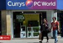 Currys PC World apologises after gift cards wiped