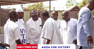 Farouk Aliu Mahama holds Islamic thanksgiving after parliamentary victory