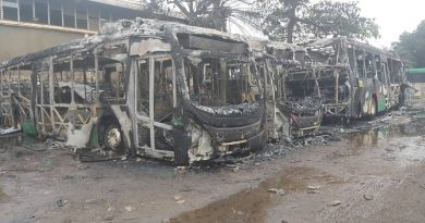 Fire destroys four Aayalolo buses in Kumasi