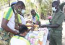Ghanaian peacekeepers provide free medical services to soldiers and civilians in South Sudan