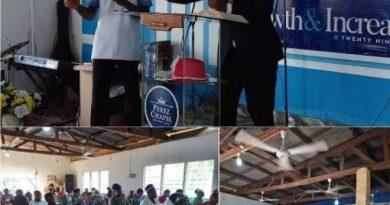 Hohoe: Celebrating Christmas must not be measured by external things – Pastor Makafui Klutse