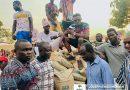 Hon. Joseph Kwasi Mensah presents 50 bags of cement to Dromankese