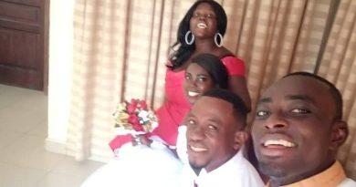 Joycelyn Angel of Opera news marries her Nigerian boyfriend