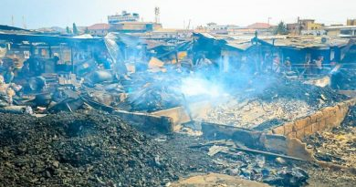 Kantamanto fire: Bawumia assures affected traders of support