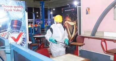 Kotoka Int. Airport takes its turn of the 3rd phase of disinfection