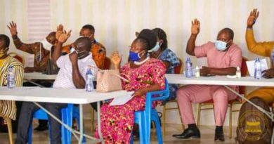 Kwahu East DCE list achievement in infrastructure, education, health, & more