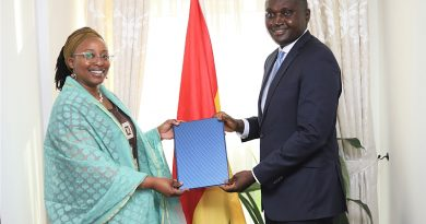 New Resident Representative of UNDP Ghana presents letter of credence to Foreign Ministry
