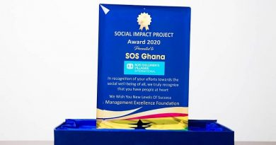 SOS-NBU beats MTN, Zoomlion, et al to win the Social Impact of the year