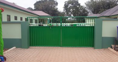 Tain District: DCE Commissions maternity block for Seikwa Health Centre
