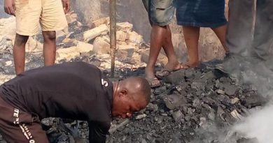 Traders count losses after Kantamanto fire incident