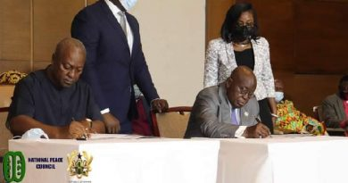 US applauds signing of Presidential peace pact
