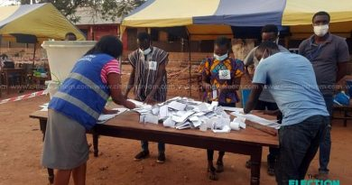 Voting ends nationwide, counting underway
